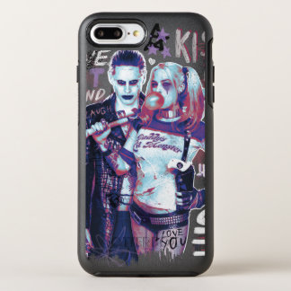 Selbstmord-Gruppe | Joker-u. Harley OtterBox Symmetry iPhone 8 Plus/7 Plus Hülle
