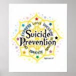 Selbstmord-Verhinderung Lotus Plakate