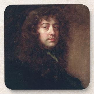 Selbstporträt, 1665-70 (Öl auf Leinwand) Drink Untersetzer