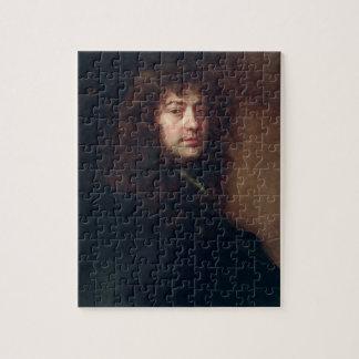 Selbstporträt, 1665-70 (Öl auf Leinwand) Puzzle