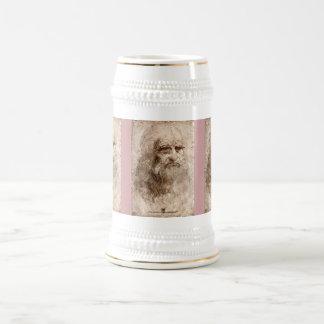 Selbstporträt Bierglas