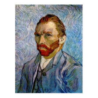 Selbstporträt durch Vincent van Gogh Postkarten