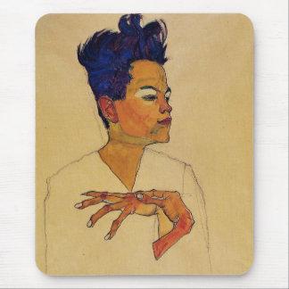 Selbstporträt Egon Schiele Mauspads
