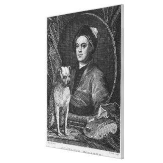 Selbstporträt, graviert von T. Cook, 1809 Leinwanddruck