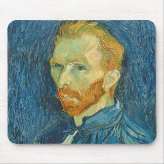 Selbstporträt Vincent van Goghs |, 1889 Mauspad