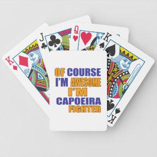 Selbstverständlich bin ich Capoeira Kämpfer Bicycle Spielkarten