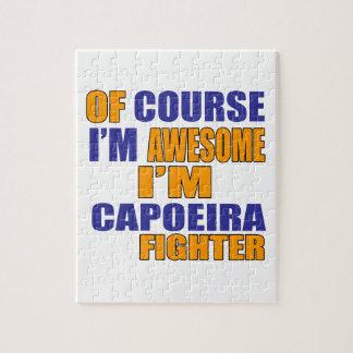 Selbstverständlich bin ich Capoeira Kämpfer Puzzle