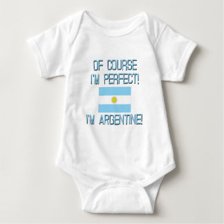 Selbstverständlich bin ich, ich bin Argentinien Baby Strampler