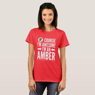 Selbstverständlich bin ich ich bin ein Bernstein T-Shirt