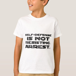 Selbstverteidigung 3 wusch schweres T-Shirt
