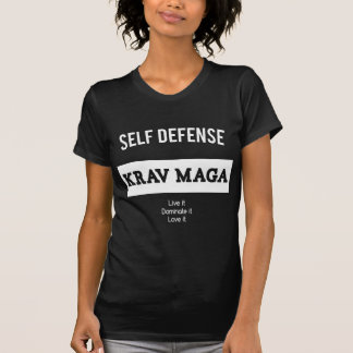 Selbstverteidigung Krav Maga T-Shirt