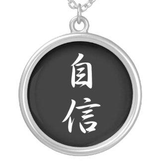 Selbstvertrauen - Jishin Halskette Mit Rundem Anhänger
