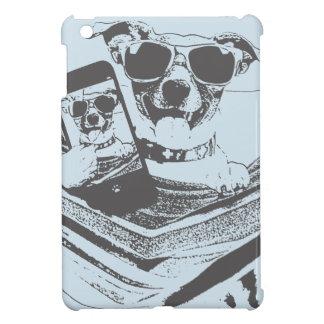 selfie Hunde iPad Mini Hülle