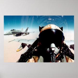 Selfie über Afghanistan Poster