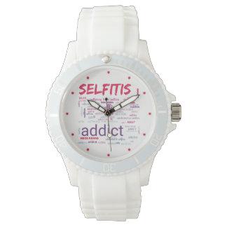 Selfitis, Selfie Süchtiger Armbanduhr