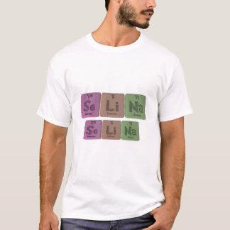 Selina als Selen-Lithium-Natrium T-Shirt