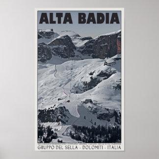 Sella Ronda - Alta- Badialauf 20 Poster