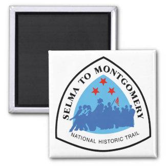 Selma nach Montgomery Trai Quadratischer Magnet