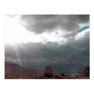 Selten, natürliche Wolken zu sehen Postkarte