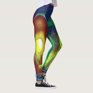 Seltene flippige künstlerische leggings