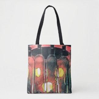 Seltener Funky Rosen-Zimt-künstlerische Tasche