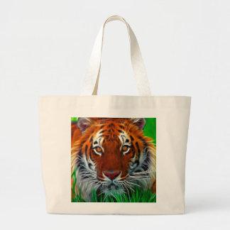 Seltener Sumatran Tiger von Indonesien Tragetaschen