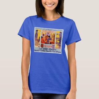 Seltenes Vintages Reise-Plakat Brügges wieder T-Shirt