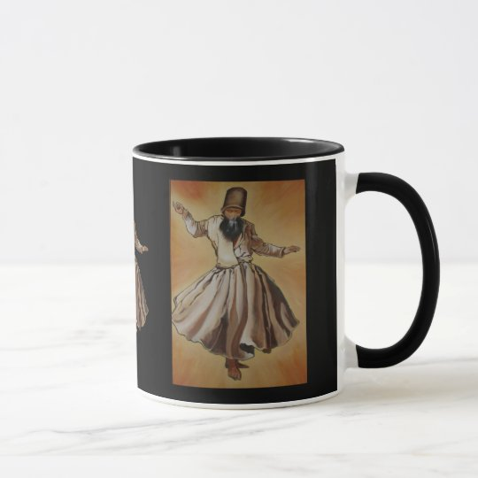 Semasen - Sufi Whirling Derwisch Tasse