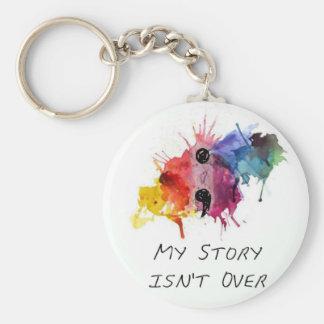 Semikolon meine Geschichte ist nicht vorbei Schlüsselanhänger