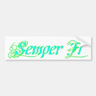Semper FI Autosticker