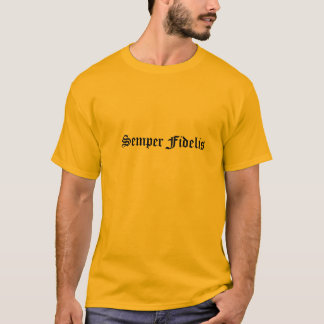 Semper Fidelis klassischer T - Shirt durch