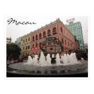 senado Macao-Farben Postkarte