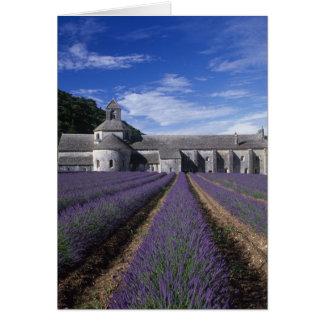 Senanque Abtei, Gordes, Vaucluse, Provence, Karte
