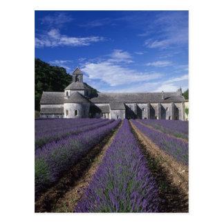 Senanque Abtei, Gordes, Vaucluse, Provence, Postkarte