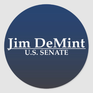 Senat Jims DeMint US Runder Aufkleber