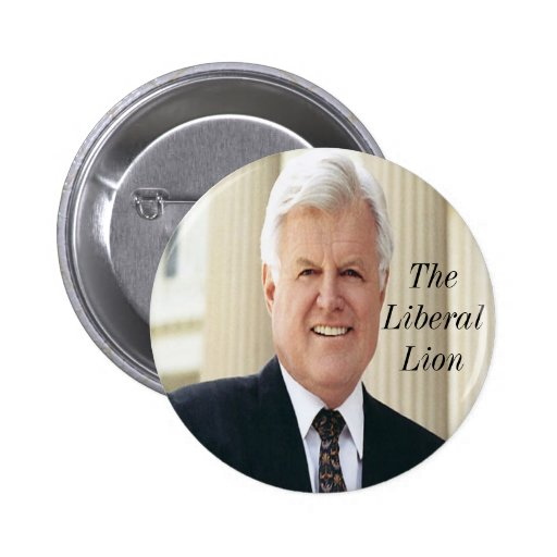 Senator Edward Kennedy Commemorative Button