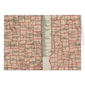 Senats- Bezirke 2 Karte