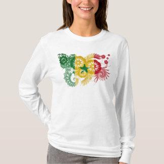 Senegal-Flagge T-Shirt