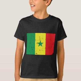 Senegal-Flaggen-Welt T-Shirt