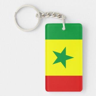 Senegal-Landesflaggenationssymbol Schlüsselanhänger