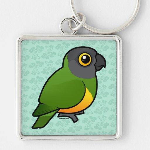 Senegal-Papagei Schlüsselbänder