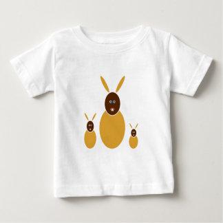 Senf-Häschen Baby T-shirt