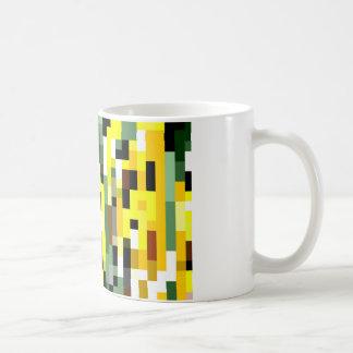 Senf-Mosaik Kaffeetasse