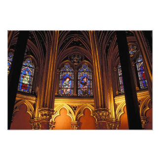 Senken Sie Kapelle von La Sainte-Chapelle, Paris,  Photographie