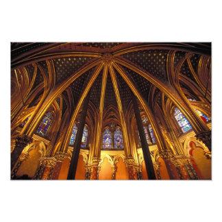 Senken Sie Kapelle von La Sainte-Chapelle, Paris, Photos