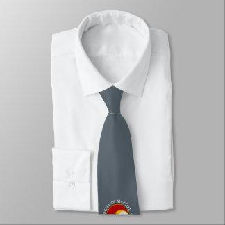 Senpai - ordnende Platten-Krawatte Krawatte