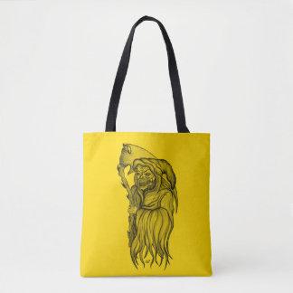 Sensemann - der Tod, grimmiger Sensenmann Tasche
