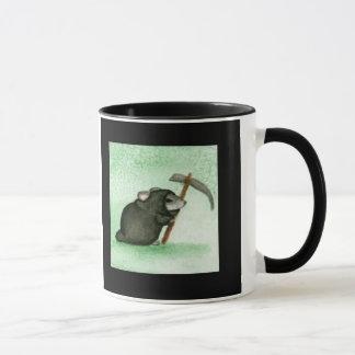 Sensenmann-Hamster-Tasse (Grün) Tasse