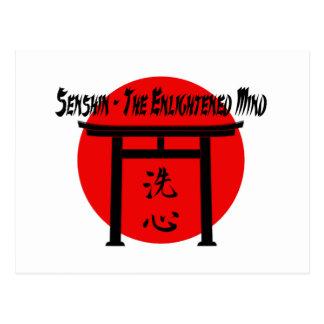 Senshin - das erleuchtete SinnesKampfkunst-Blog Postkarte