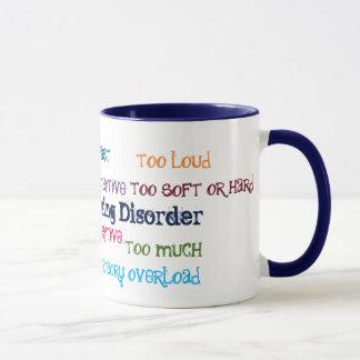 Sensorische verarbeitenstörungs-Kaffee-Tasse Tasse